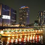 Tokyo night view Tennozu Isle