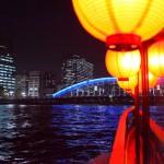 Tokyo night view permanence bridge