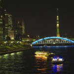 東京スカイツリー 永代橋 夜景