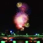 Sumida River fireworks display